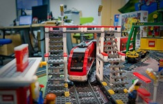 Mô hình thành phố Lego lớn nhất tại Nga