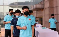 ĐT Việt Nam hội quân trở lại, thực hiện nghiêm quy định phòng, chống dịch COVID-19