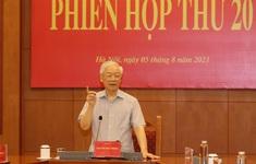Tổng Bí thư Nguyễn Phú Trọng chủ trì Phiên họp thứ 20 của Ban Chỉ đạo Trung ương về phòng, chống tham nhũng