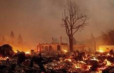 Cháy rừng kỷ lục hoành hành ở California, phần lớn thị trấn Greenville chỉ còn là đống tro tàn