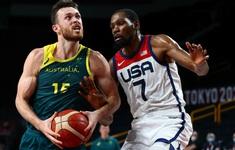 Xác định 2 đội bóng thi đấu chung kết bóng rổ nam Olympic