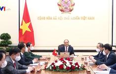 Tổng thống Vladimir Putin mời Chủ tịch nước Nguyễn Xuân Phúc thăm chính thức Nga