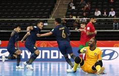 TRỰC TIẾP BÓNG ĐÁ ĐT Thái Lan - ĐT Maroc: Bảng C FIFA Futsal World Cup Lithuania 2021™