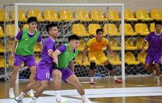 ĐT futsal Việt Nam tập trung cao độ cho trận đấu then chốt với ĐT futsal Panama
