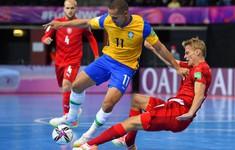 VIDEO Highlights | ĐT Brazil 4-0 ĐT CH Czech | Bảng D VCK FIFA Futsal World Cup Lithuania 2021™