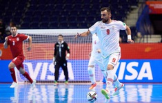 TRỰC TIẾP FUTSAL ĐT Iran 3-1 ĐT Mỹ: Thế trận áp đảo!