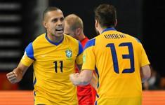 Brazil 4-0 CH Czech | Thắng thuyết phục, Brazil sớm giành vé vào vòng 1/8 FIFA Futsal World Cup Lithuania 2021™