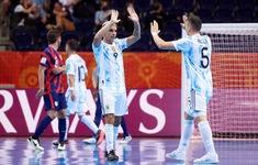 TRỰC TIẾP | ĐT futsal Argentina 3-2 ĐT futsal Serbia: Liên tiếp bàn thắng