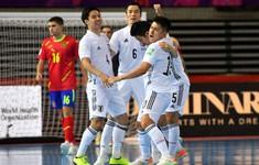 TRỰC TIẾP FUTSAL Tây Ban Nha 4-2 Nhật Bản: Hiệp 2 | Bảng E FIFA Futsal World Cup Lithuania 2021™