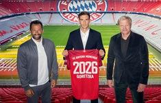 Leon Goretzka gia hạn hợp đồng với Bayern Munich