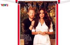Ảnh của vợ chồng Harry và Meghan trên trang bìa tạp chí Time