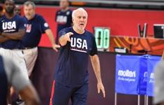 HLV Gregg Popovich sẽ chia tay đội tuyển Mỹ