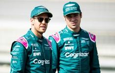 Đội đua Aston Martin xác nhận giữ nguyên đội hình ở mùa 2022