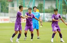 Cầu thủ ĐT U22 Việt Nam bắt đầu cảm nhận sức nóng của Vòng loại U23 châu Á 2022