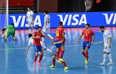 CẬP NHẬT Kết quả lịch thi đấu và BXH bảng E, F FIFA Futsal World Cup Lithuania 2021™: Tây Ban Nha, Iran và Argentina giành vé vào vòng trong