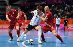 TRỰC TIẾP | ĐT futsal Argentina 4-2 ĐT futsal Serbia: Nhà ĐKVĐ thi đấu thăng hoa