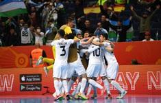 BXH chung cuôc bảng B FIFA Futsal World Cup Lithuania 2021™: Bất ngờ mang tên Uzbekistan