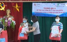 Hỗ trợ lao động nữ di cư khó khăn do dịch bệnh