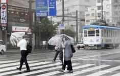 Bão Chanthu đổ bộ Nhật Bản, khiến ít nhất 5 người bị thương