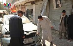 Đánh bom liên tiếp gây thương vong tại Afghanistan