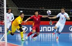 TRỰC TIẾP FUTSAL CH Séc 0-0 Việt Nam | Hiệp 1