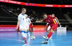 TRỰC TIẾP FUTSAL CH Séc 0-1 Việt Nam | Châu Đoàn Phát mở tỉ số | Hiệp 2
