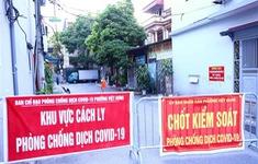 Thêm 5 ca mắc liên quan ổ dịch COVID-19 quận Long Biên, Hà Nội ghi nhận 10 ca trưa 21/9