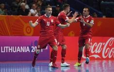 TRỰC TIẾP FUTSAL ĐT Mỹ 0-4 ĐT Serbia: Hiệp 2 | Bảng F FIFA Futsal World Cup Lithuania 2021™