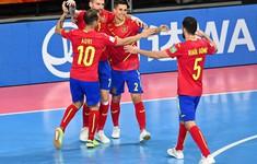 CẬP NHẬT Kết quả, bảng xếp hạng bảng E FIFA Futsal World Cup Lithuania 2021™: Tây Ban Nha nhất bảng, Paraguay vươn lên vị trí thứ nhì