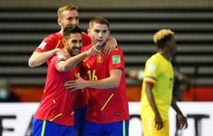 VIDEO Highlights | ĐT Tây Ban Nha 4-1 ĐT Angola | Bảng E FIFA Futsal World Cup Lithuania 2021™
