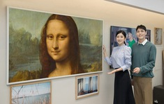 Thưởng thức các tác phẩm nghệ thuật từ bảo tàng Louvre trên TV The Frame của Samsung