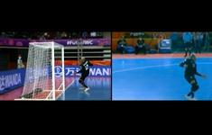 FIFA sửa lỗi khung thành từng khiến ĐT Futsal Việt Nam mất bàn thắng