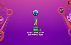 Kết quả, lịch thi đấu và trực tiếp vòng 1/8 FIFA Futsal World Cup Lithuania 2021™