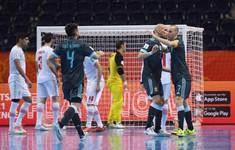 TRỰC TIẾP FUTSAL | ĐT Iran 0-2 ĐT Argentina: Hiệp 2 bùng nổ!
