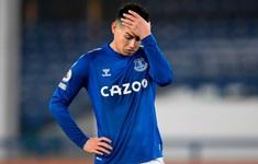 James Rodriguez sắp chia tay Everton