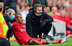 Liverpool tiếp tục gặp khó khăn về lực lượng