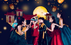 Siêu mẫu nhí Phong Thiên tung bộ ảnh đầy màu sắc đón Trung thu