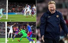Barcelona giành 1 điểm nhờ bàn thắng ở phút 90