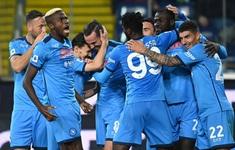 Thắng thuyết phục Udinese, Napoli vươn lên dẫn đầu Serie A