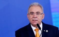 Bộ trưởng Y tế Brazil mắc COVID-19, tự cách ly tại Mỹ