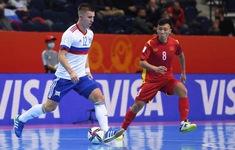 TRỰC TIẾP FUTSAL | ĐT Việt Nam 0-1 ĐT Nga: Đương kim Á quân thế giới ép sân (Hiệp 1)