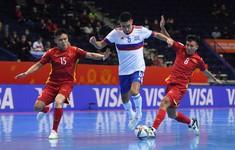 TRỰC TIẾP FUTSAL | ĐT Việt Nam 1-3 ĐT Nga: Thi đấu nỗ lực (Hiệp 2)