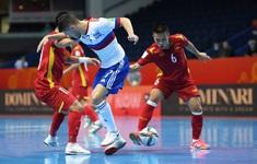 ĐT Futsal Việt Nam nhận thưởng lớn sau màn trình diễn quả cảm trước ĐT Futsal Nga