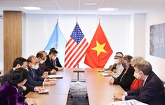 Chủ tịch nước tiếp đại diện bạn bè Hoa Kỳ nhân kỷ niệm 60 năm thảm họa da cam ở Việt Nam