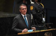 Tổng thống Brazil tự cách ly sau khi dự họp tại trụ sở Liên Hợp Quốc ở New York