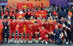 FIFA đánh giá cao bàn thắng của Futsal Việt Nam trong trận đấu tại vòng 1/8 trước á quân thế giới