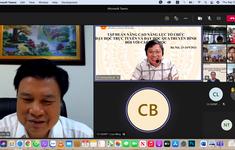 Tập huấn dạy học trực tuyến và qua truyền hình cho giáo viên tiểu học