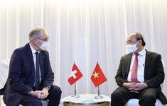 Thụy Sỹ mong muốn thúc đẩy hợp tác kinh tế với Việt Nam