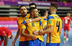 TRỰC TIẾP | ĐT Brazil - ĐT Nhật Bản | Vòng 1/8 FIFA Futsal World Cup Lithuania 2021™