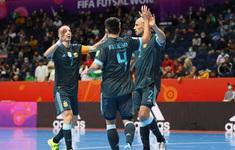 TRỰC TIẾP FUTSAL | ĐT Argentina - ĐT Paraguay | Vòng 1/8 FIFA Futsal World Cup Lithuania 2021™